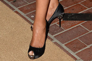 Wendy Raquel Robinson Peep Toe Pumps