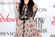 Jessica Origliasso Print Dress