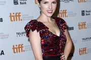 Anna Kendrick Fitted Blouse