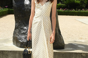 Margaret Qualley Print Dress