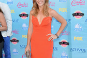 Katie Leclerc Strapless Dress