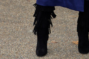 Poppy Delevingne Mid-Calf Boots