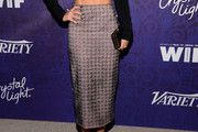 Lizzy Caplan Pencil Skirt