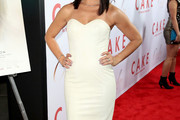 Camille Guaty Strapless Dress
