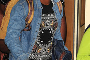 Oritse Williams Denim Shirt