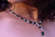 Preity Zinta Gemstone Lariat Necklace