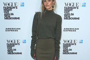 Isabel Lucas Turtleneck