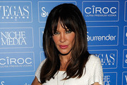 Robin Antin Long Straight Cut with Bangs