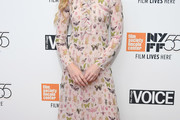 Kathryn Newton Print Dress