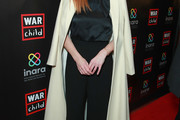 Sarah Rafferty Wool Coat
