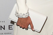 Candice Swanepoel Leather Clutch