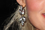Abi Titmuss Dangling Diamond Earrings