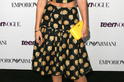 Alyson Michalka Knee Length Skirt
