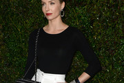 Annabelle Wallis Fitted Blouse