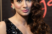 Gauhar Khan Long Curls