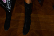 Anna dello Russo Lace Up Boots