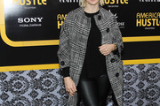 Kelly Rutherford Tweed Coat
