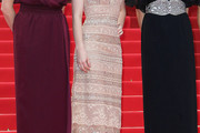 Emily Browning Evening Dress