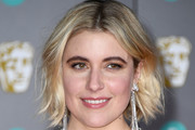 Greta Gerwig Layered Razor Cut