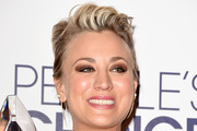 Kaley Cuoco-Sweeting Messy Cut