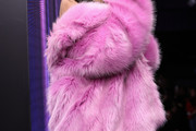 Madison Beer Fur Coat