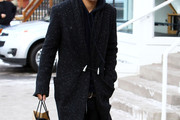 Evan Ross Trenchcoat