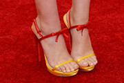 Elizabeth Olsen Evening Sandals