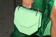 Solange Knowles Leather Purse