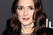 Winona Ryder Long Wavy Cut