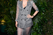 January Jones Skirt Suit