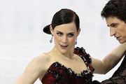 Tessa Virtue Dangling Crystal Earrings