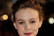 Carey Mulligan Loose Bun