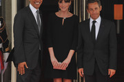 Carla Bruni-Sarkozy Little Black Dress