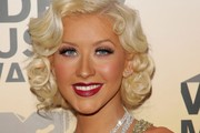 Christina Aguilera Retro Hairstyle