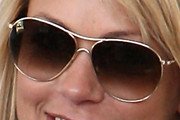 Christine Baumgartner Aviator Sunglasses