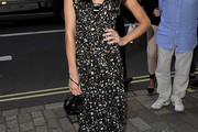 Clara Paget Beaded Dress