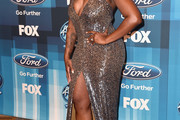 Fantasia Barrino Halter Dress