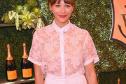 Rashida Jones Button Down Shirt