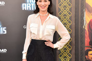 Perrey Reeves Button Down Shirt