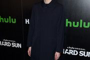 Agyness Deyn Wool Coat