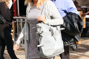 Kate Gosselin Leather Tote