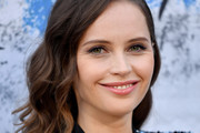 Felicity Jones Long Wavy Cut