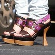 Dakota Fanning Platform Shoes