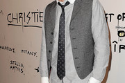 David Arquette Dotted Tie