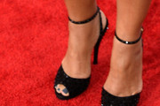 Queen Latifah Peep Toe Pumps
