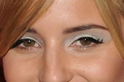 Dianna Agron Jewel Tone Eyeshadow
