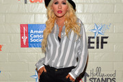 Christina Aguilera Button Down Shirt