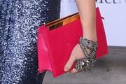 Sunny Ozell Leather Clutch