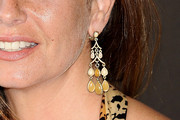 Lola Baldrich Gold Dangle Earrings