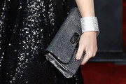 Kelly Brook Metallic Clutch